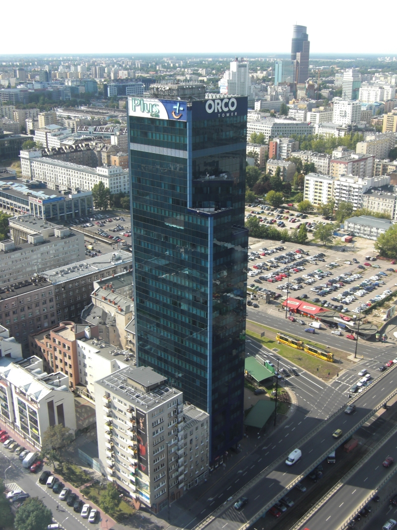 Biurowiec CENTRAL TOWER | EXPLORER-hq | COWORKING