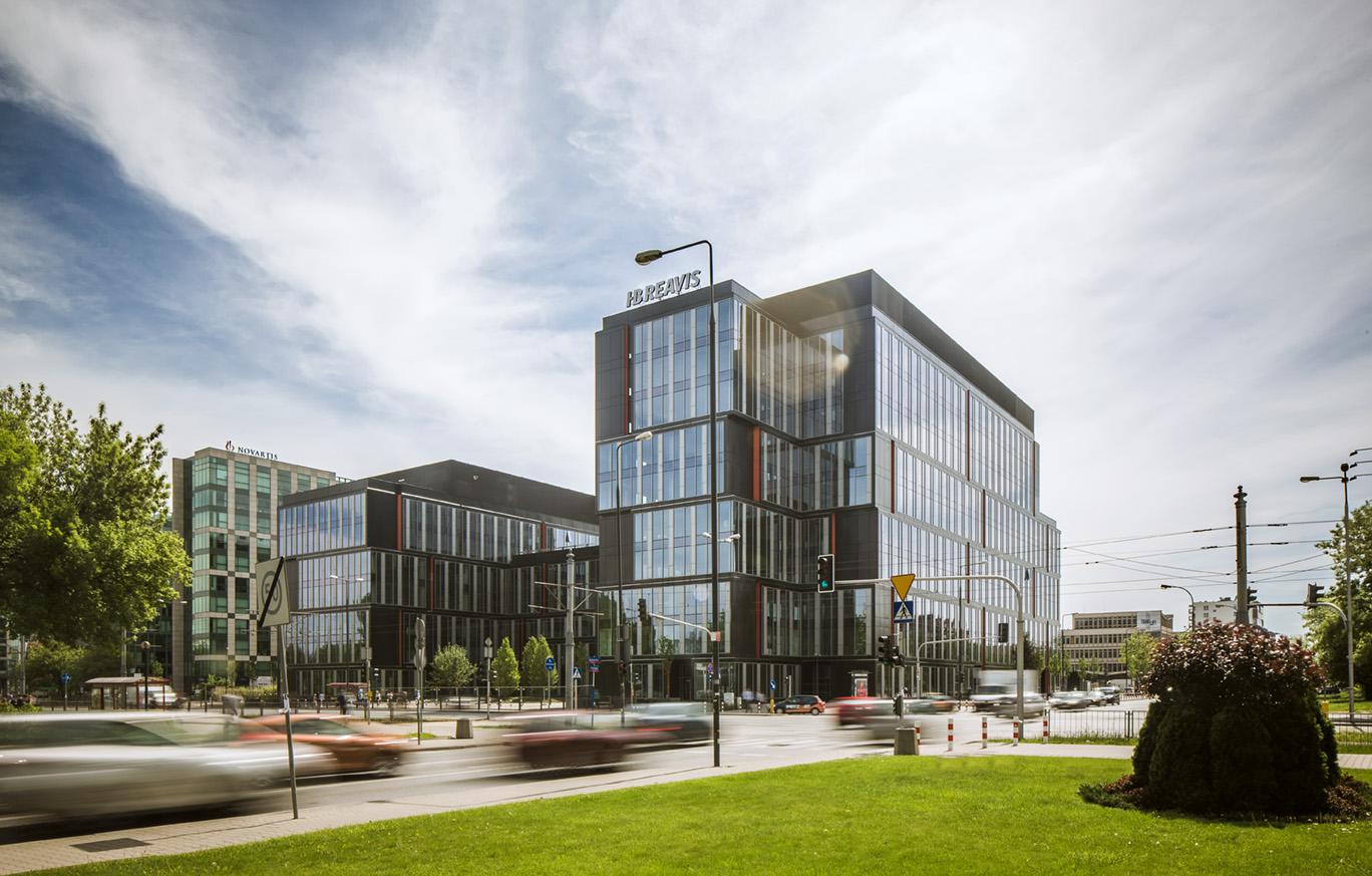 Biurowiec POSTĘPU 14 | Smart Office Warszawa | COWORKING