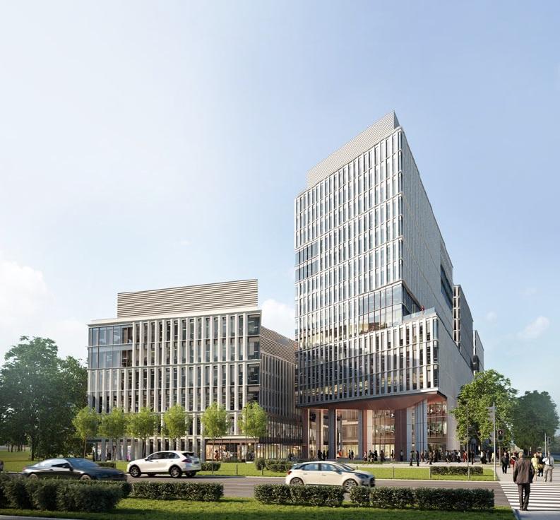 Biurowiec WROCŁAW | Centrum Południe Phase I