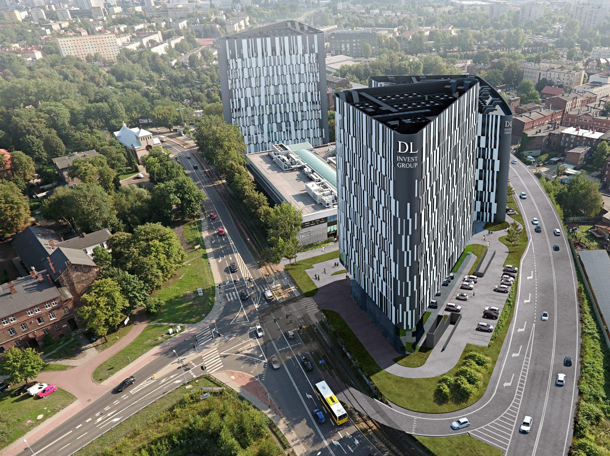 Biurowiec KATOWICE | DL CENTER POINT III ETAPY 1-3