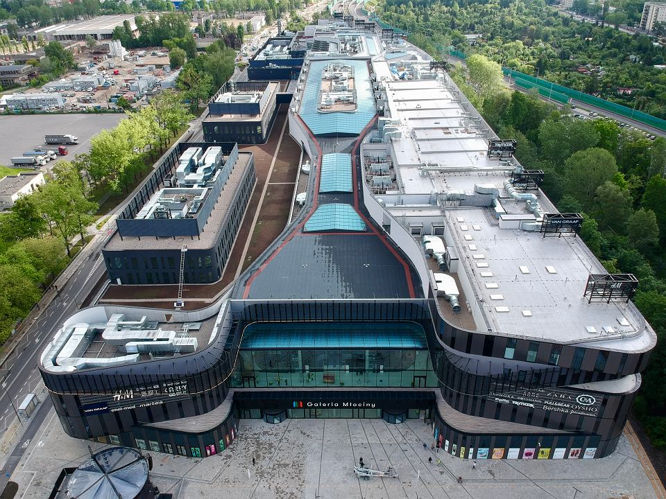 Biurowiec Galeria Młociny – City Space