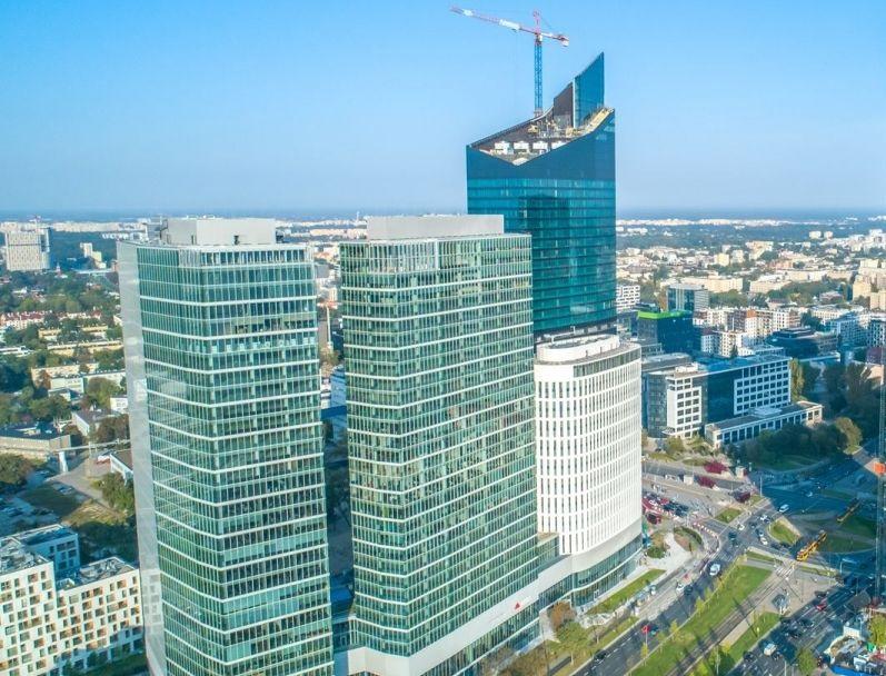 Biurowiec THE WARSAW HUB B | PODNAJEM