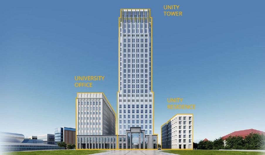 Biurowiec KRAKÓW | UNITY CENTRE (Kompleks budynków)