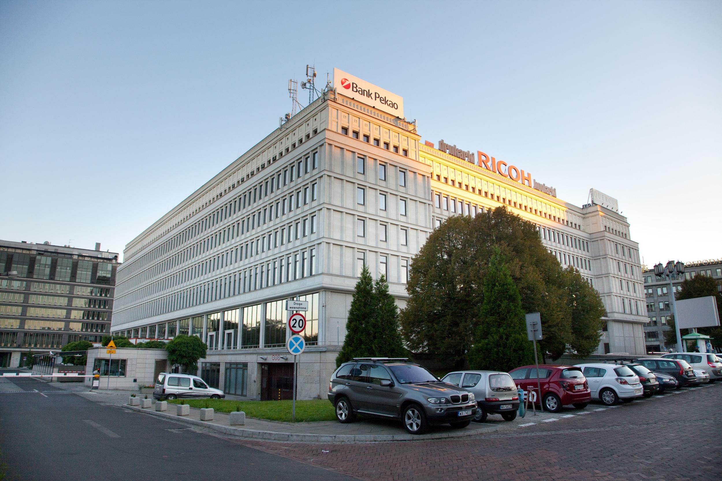 Biurowiec CENTRUM BANKOWO-FINANSOWE