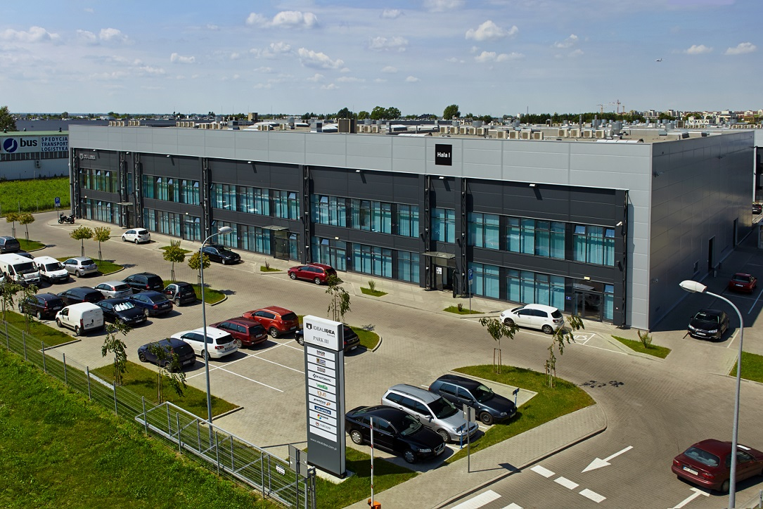 Biurowiec IDEAL DYSTRIBUTION CENTER