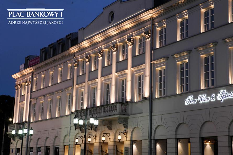 Biurowiec PLAC BANKOWY 1